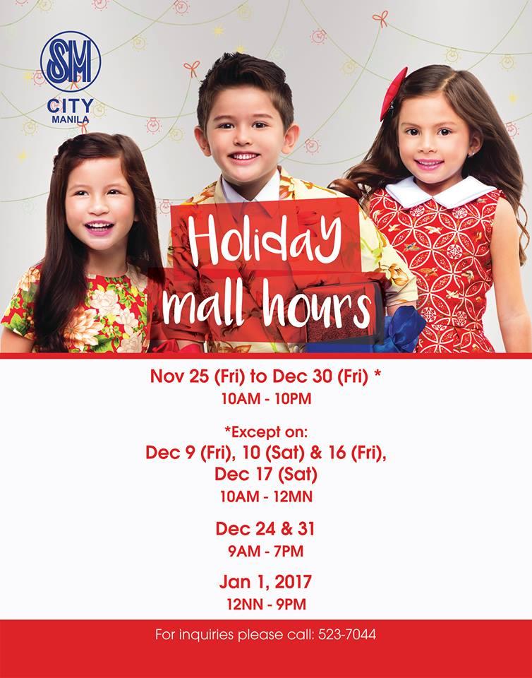 sm-manila-holiday-mall-hours