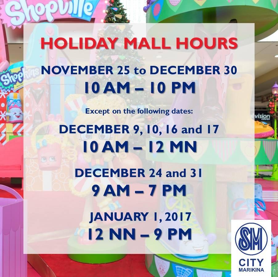 sm-marikina-holiday-mall-hours