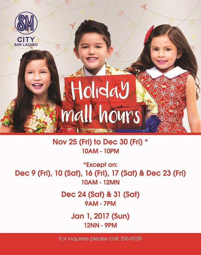 sm-san-lazaro-holiday-mall-hours