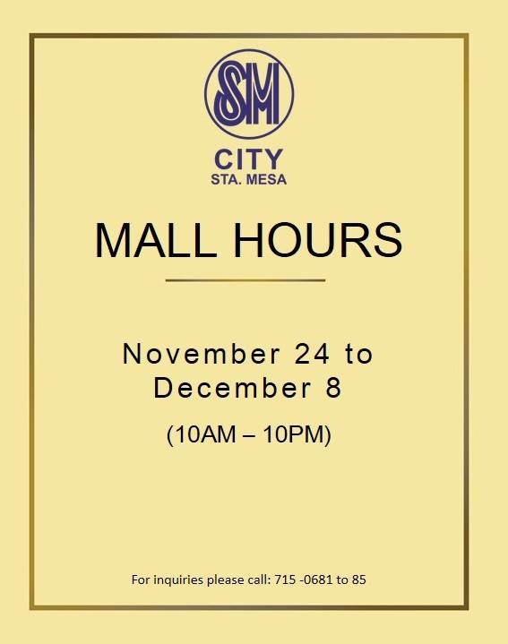 sm-sta-mesa-holiday-mall-hours