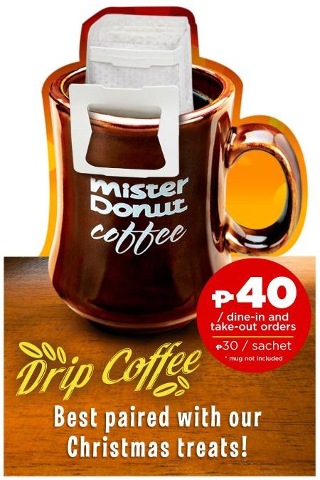 Mister Donut Drip Coffee Price