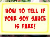 How To Tell If Your Soy Sauce is Fake!