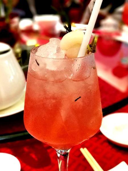 Novotel Rose Lychee Cocktail
