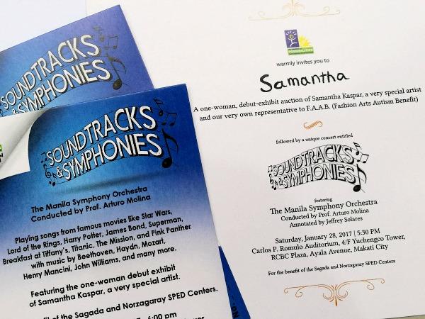 Samantha Kaspar Exhibit Manila Symphony Orchestra