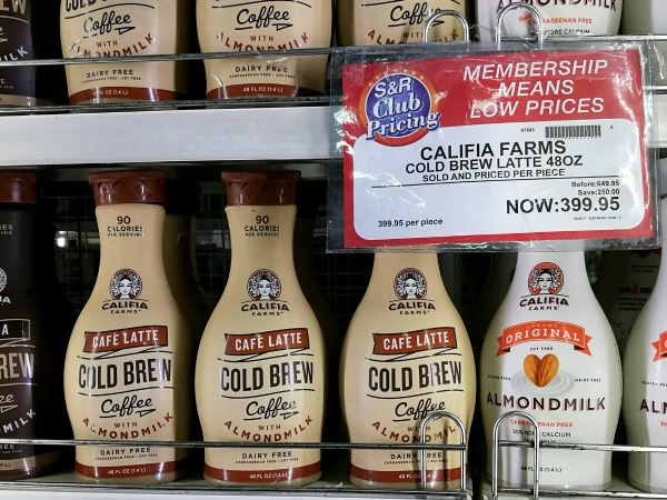 SnR Califia Latte Cold Brew
