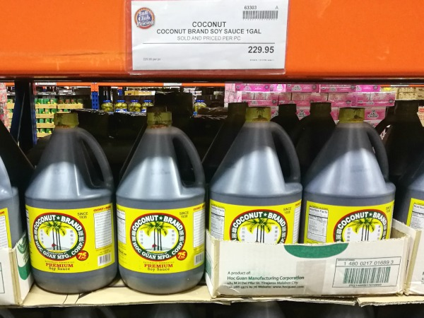S&R Coconut Brand Soy Sauce
