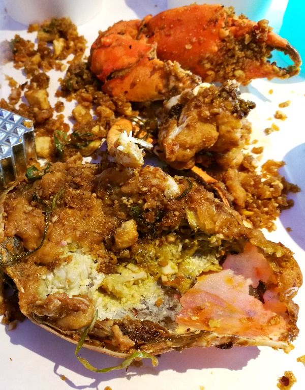 Blue Posts Boiling Crabs in Salted Egg