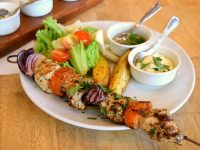 Kos Greek Ouzeri Souvlaki Chicken