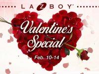 La-Z-Boy Blims Valentines Special Promo