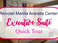 Novotel Manila Araneta Center Executive Suite Quick Tour