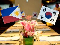 Novotel Manila Go Gangnam Korean Flags