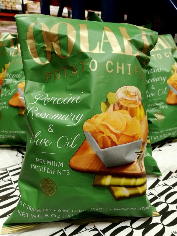 Oolala Potato Chips Rosemary Porcini
