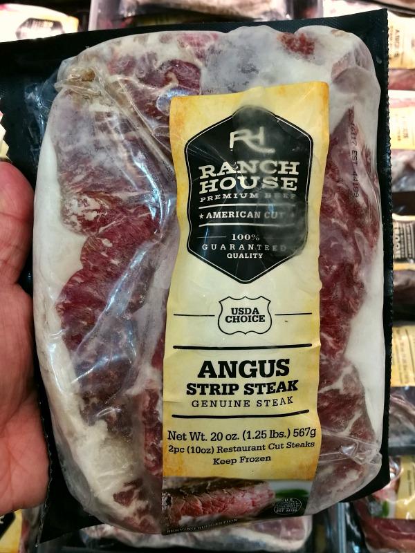 Ranch House Strip Steak Close Up