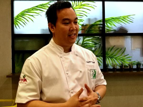 Sasa Asian Cuisine Chef Raymar Reyes
