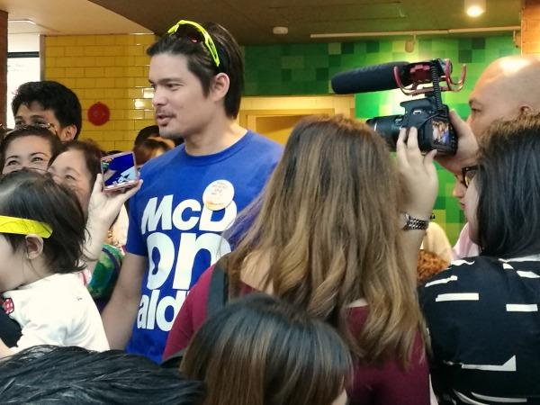 Dingdong Dantes McDonald's National Breakfast 2017
