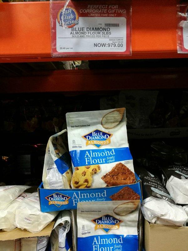 S&R Members Treat 2017 Almond Flour