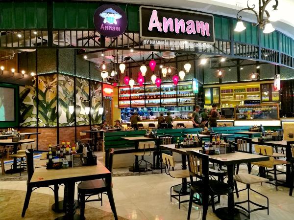 Annam Noodle Bar Interiors RWM