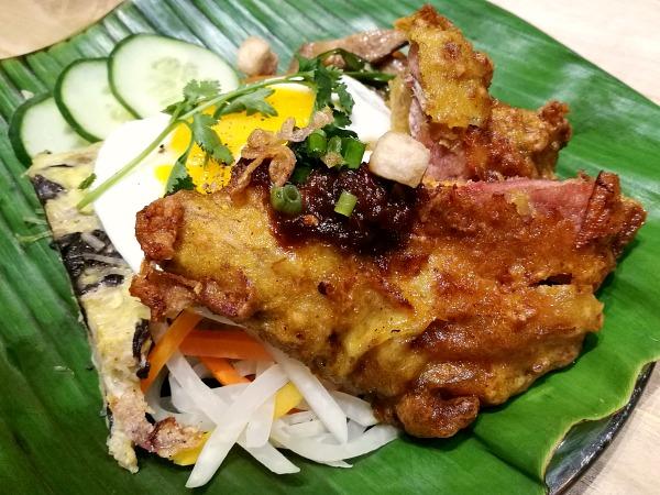 Annam Pork Chop Rice Meal