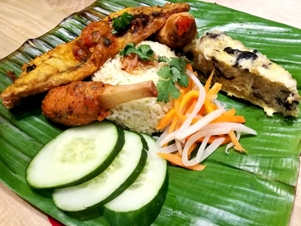 Annam Turmeric Fish Rice Meal