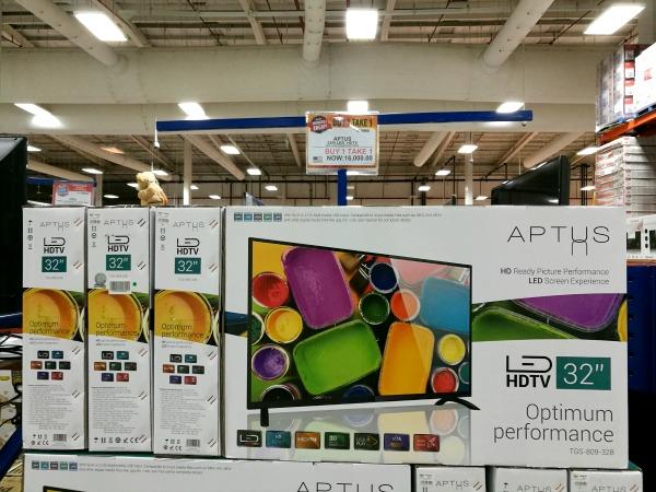 S&R Members Treat 2017 LED TV Buy 1 Take 1