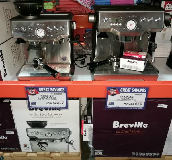 S&R Members Treat 2017 Breville Espresso Machine