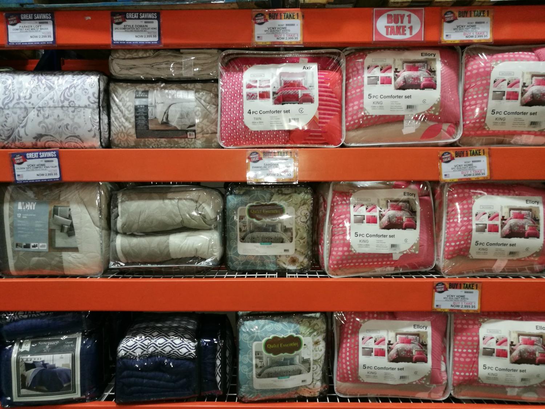 S&R Members Treat 2017 Comforters Buy 1 Take 1 2