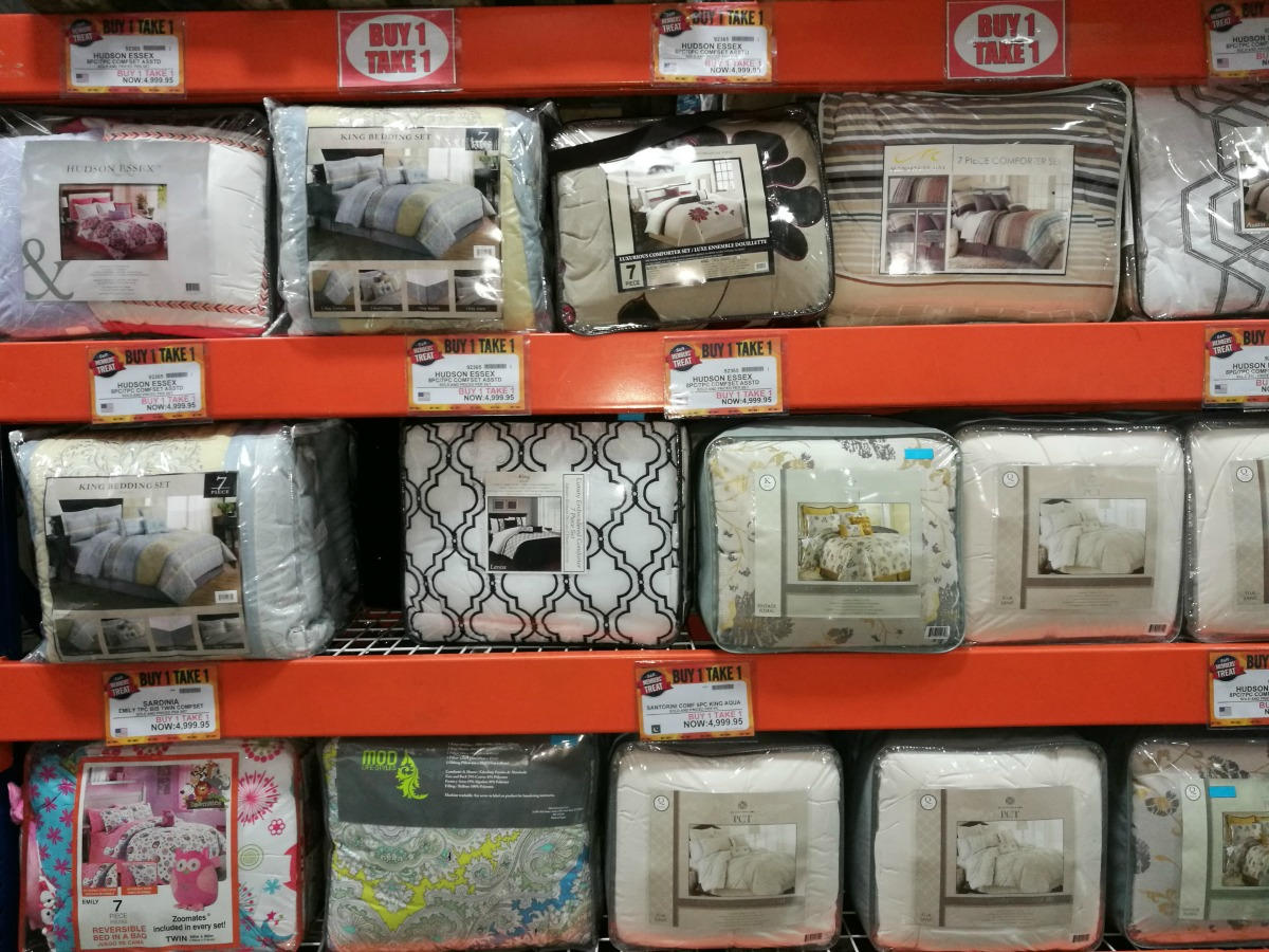 S&R Members Treat 2017 Comforters Buy 1 Take 1
