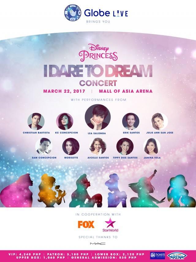 Disney Princess Dare to Dream