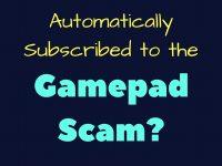 Gamepad Scam