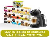 FREE Dolce Gusto Coffee Machines Promo!