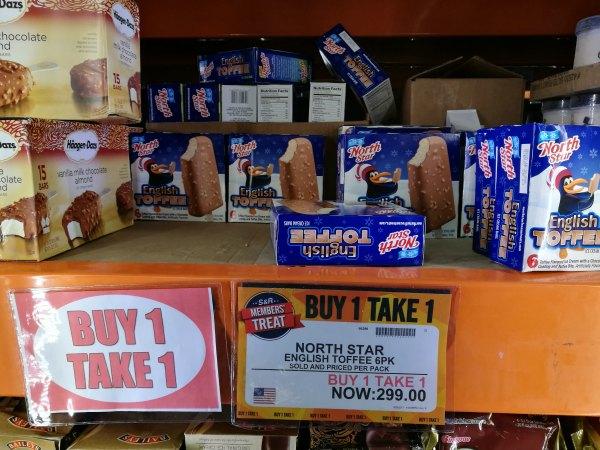 S&R Members Treat North Star Toffee Buy 1 Take 1