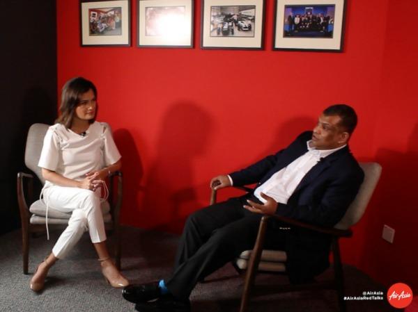 RedTalks AirAsia Tony Fernandes Interview Daphne