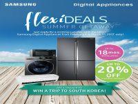 Samsung Digital Appliances Promo