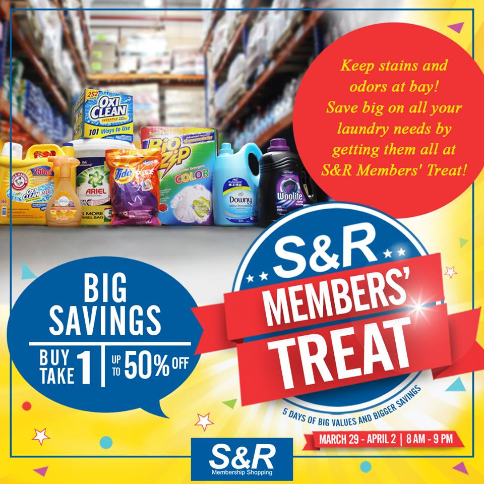 SnR Members Treat Cleaning Supplies
