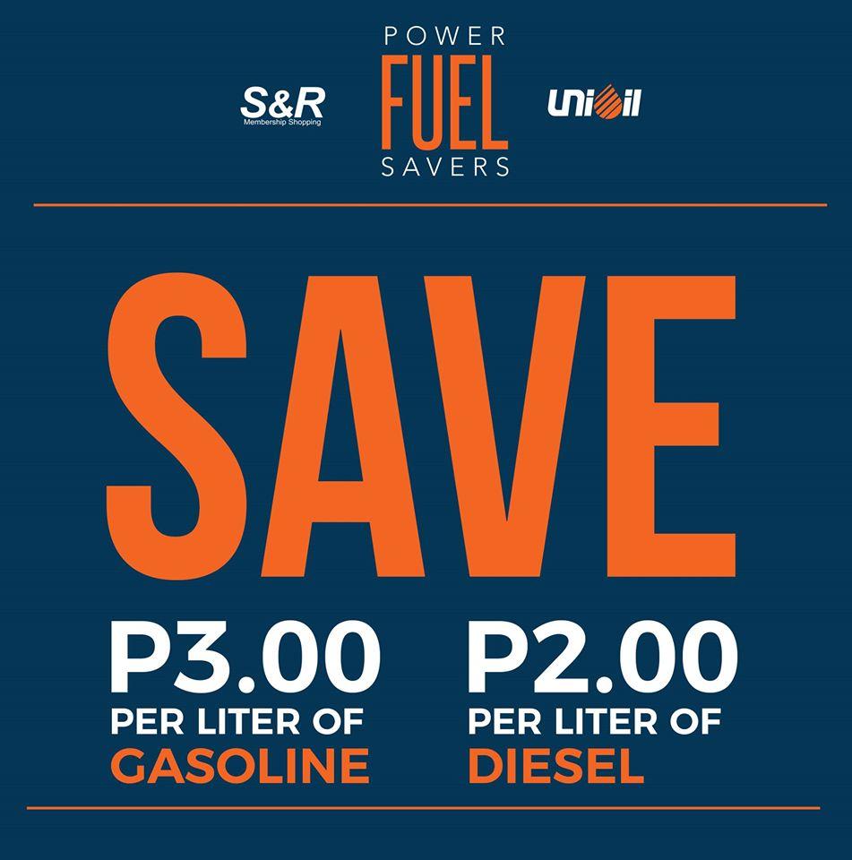 SnR UniOil Fuel Discount