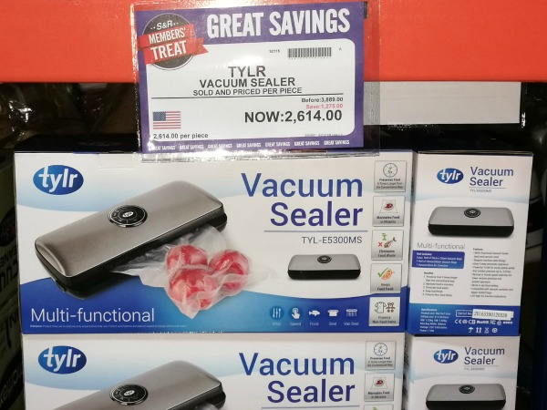 S&R Members Treat 2017 Tylr Vacuum Sealer