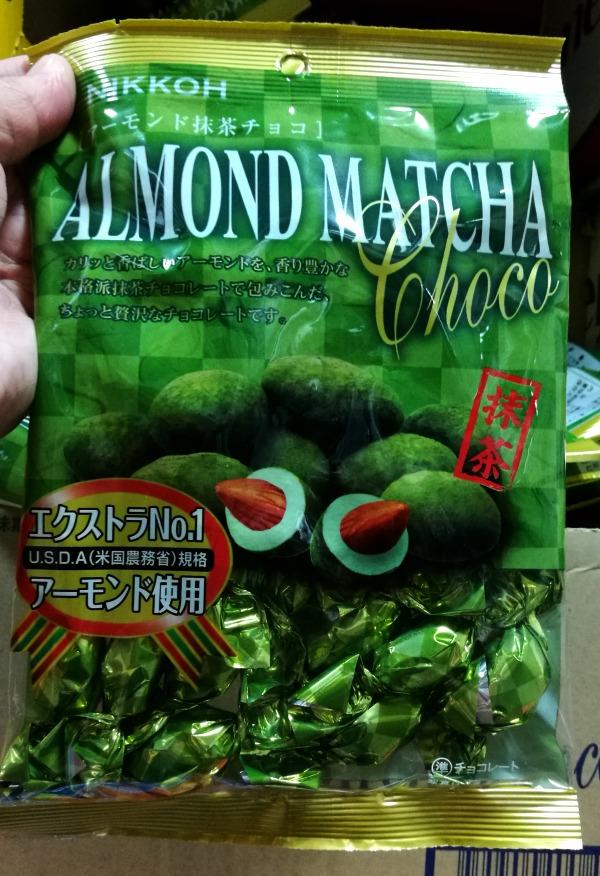 Nikkoh Almond Matcha Choco