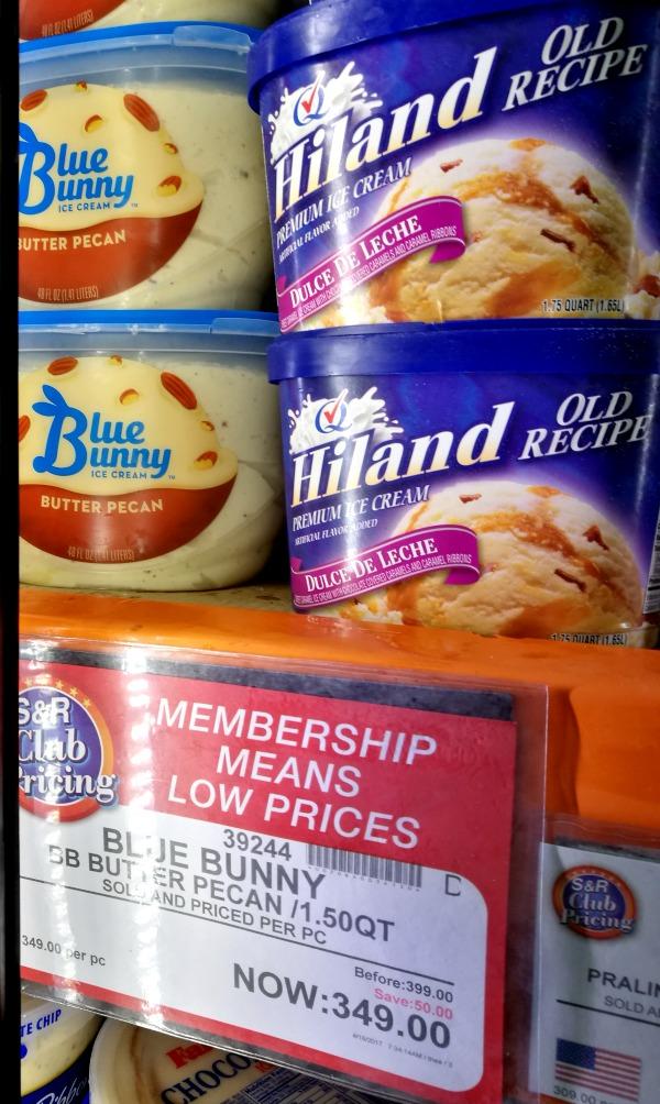 S&R Blue Bunny Butter Pecan