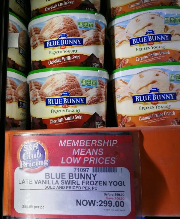 S&R Blue Bunny Chocolate Vanilla Swirl