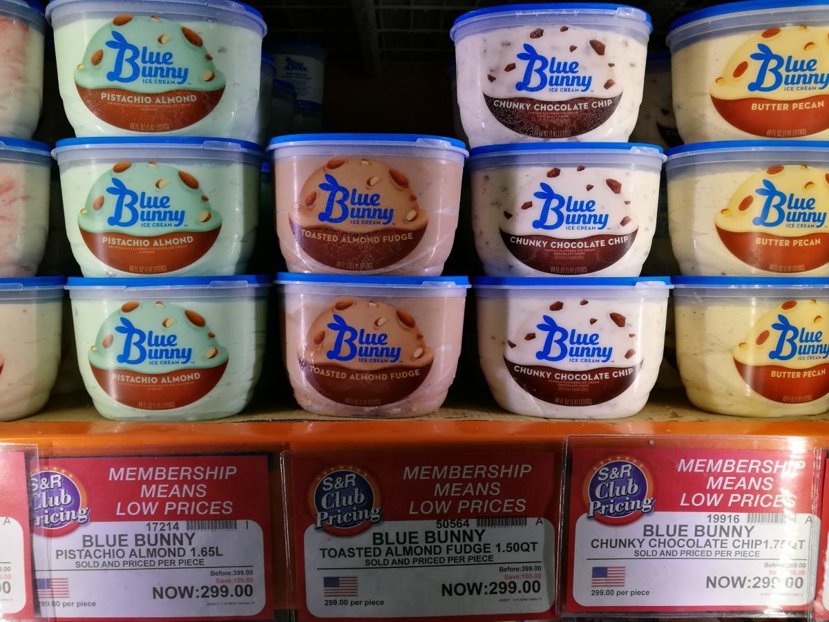 S&R Blue Bunny Ice Cream Promos April 2017