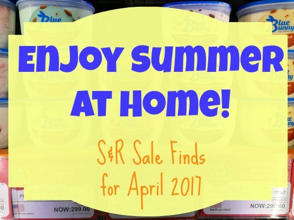SnR April 2017 Summer Promos