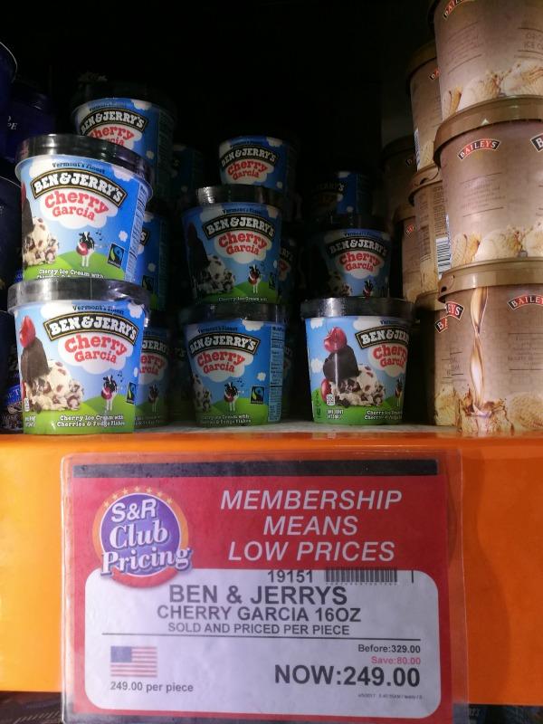 S&R Ben & Jerry's Cherry Garcia Promo