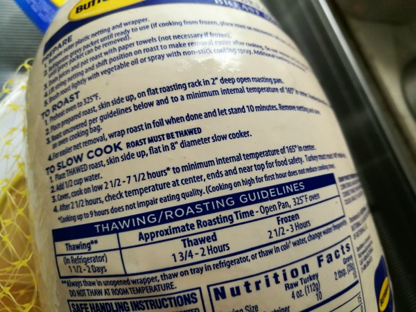 Butterball Turkey Cooking Instructions