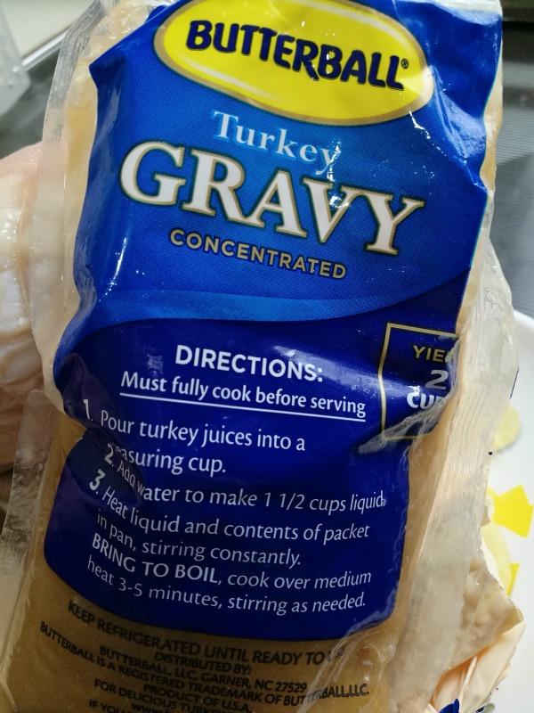 Butterball Turkey Gravy Instructions