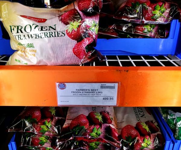 SnR Farmers Best Frozen Strawberries