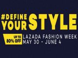 Lazada Define Your Style Fashion Sale: May 30 – June 4