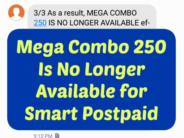 MegaCombo250 No Longer Available Featured Image