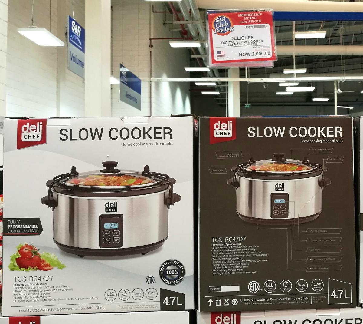 SnR Delichef Digital Slow Cooker