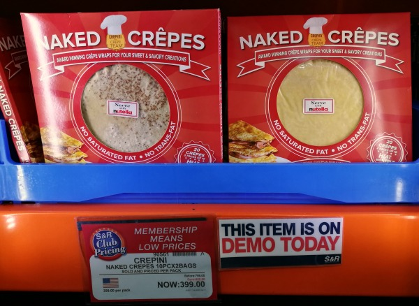 SnR Naked Crepes