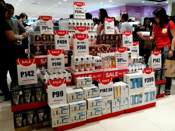 Watsons Megamall 3 Day Sale